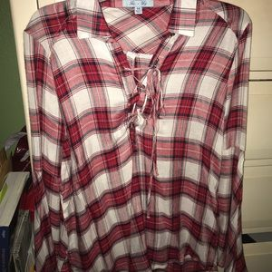 Red flannel— never worn